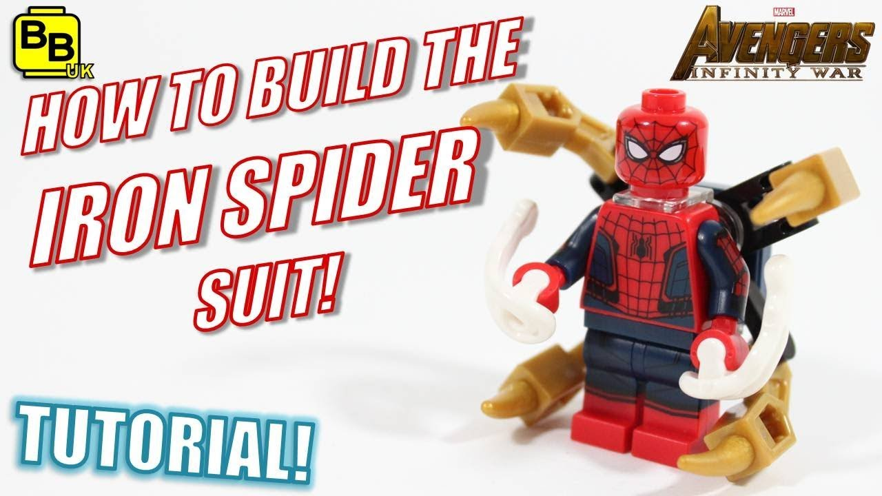 Spiderman Avengers Infinity War Marvel Custom Lego Minifig Iron Spider Armor