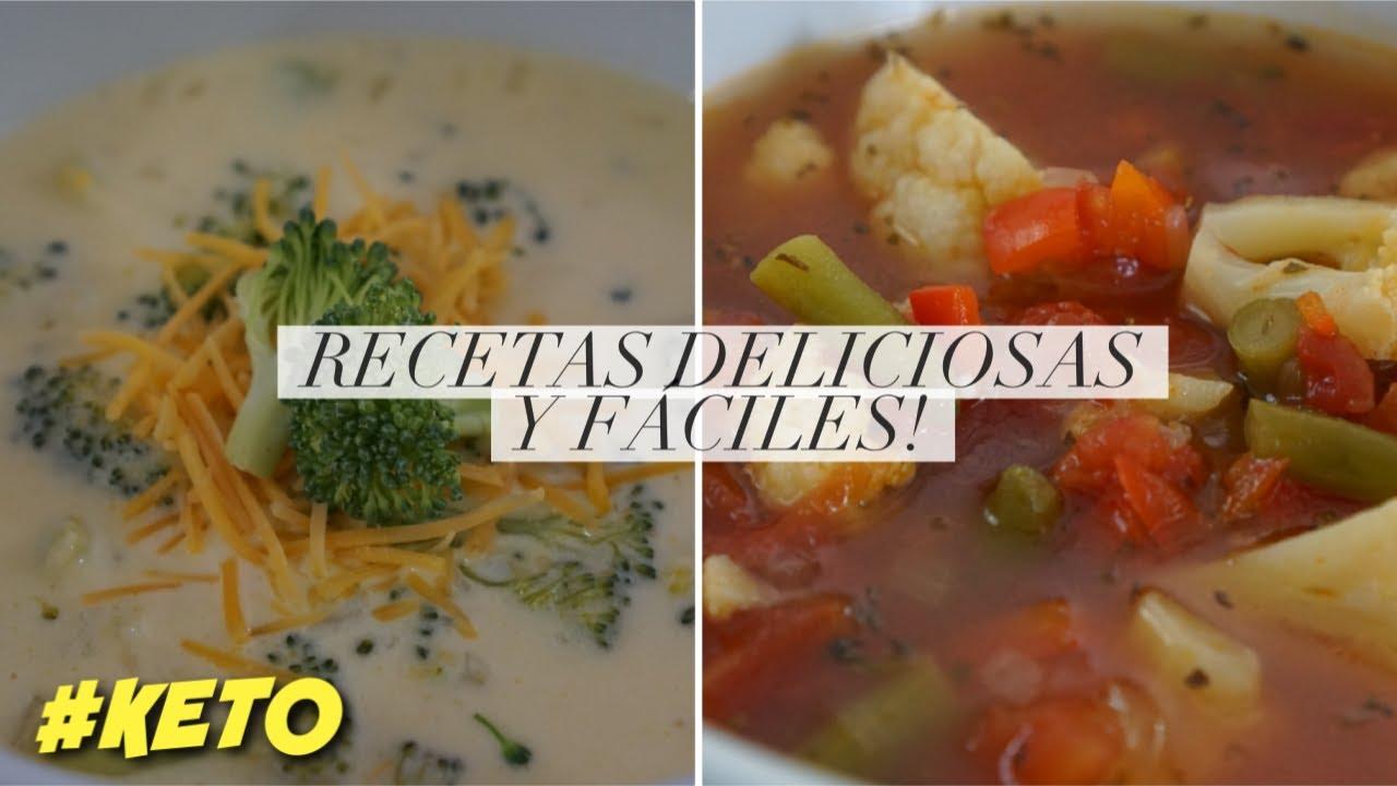Sopa en dieta cetogenica