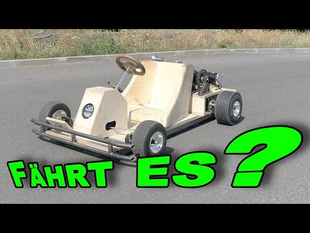 DIY Bau eines Elektro Go Kart mit 500W Leistung | Elektroauto | Tutorial | Let´s do it