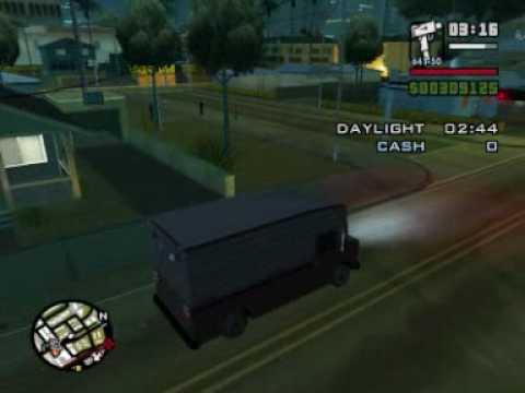 Gta San Andreas Side Mission Burglar Plus A Bug In The