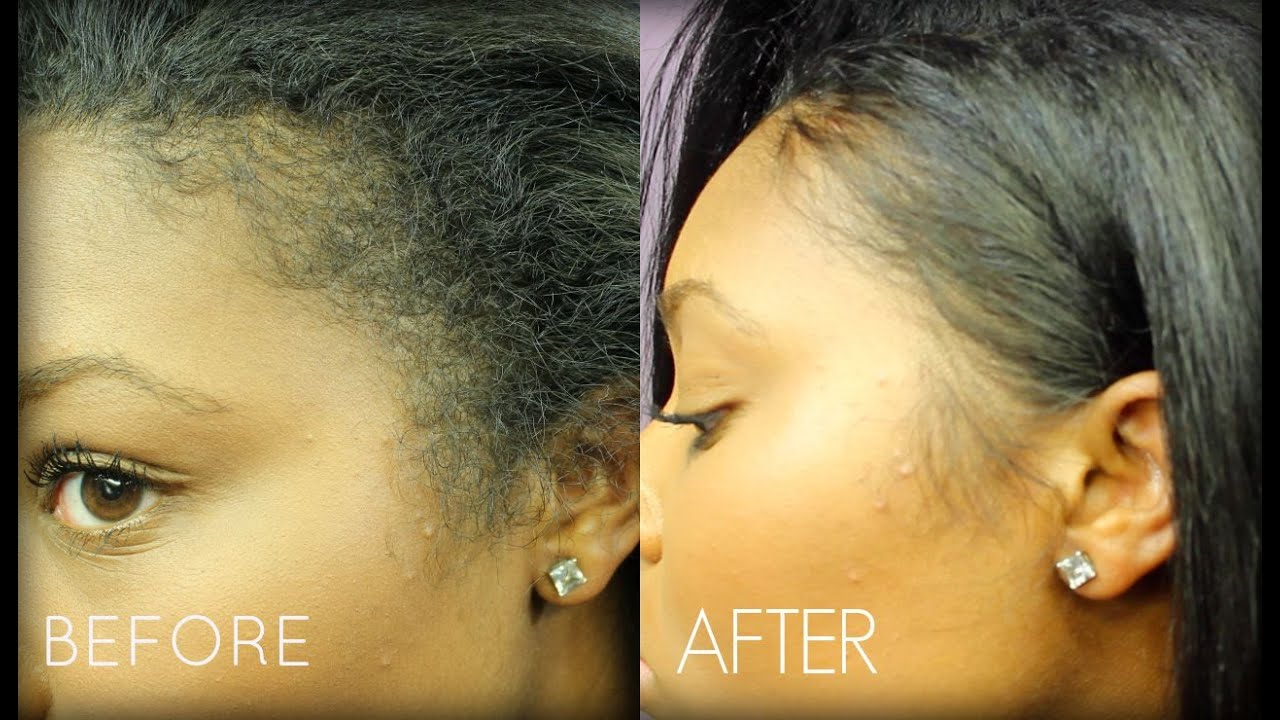 How To Style Edges On Straight Hair  Life Updates Melodie - Edges hair