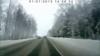 5 Аварий - 5 Сrashes (21.01.2013) Ежедневная подборка ДТ