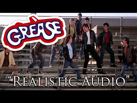 "Grease Summer Nights with ""Realistic"" Audio - (No Music)"