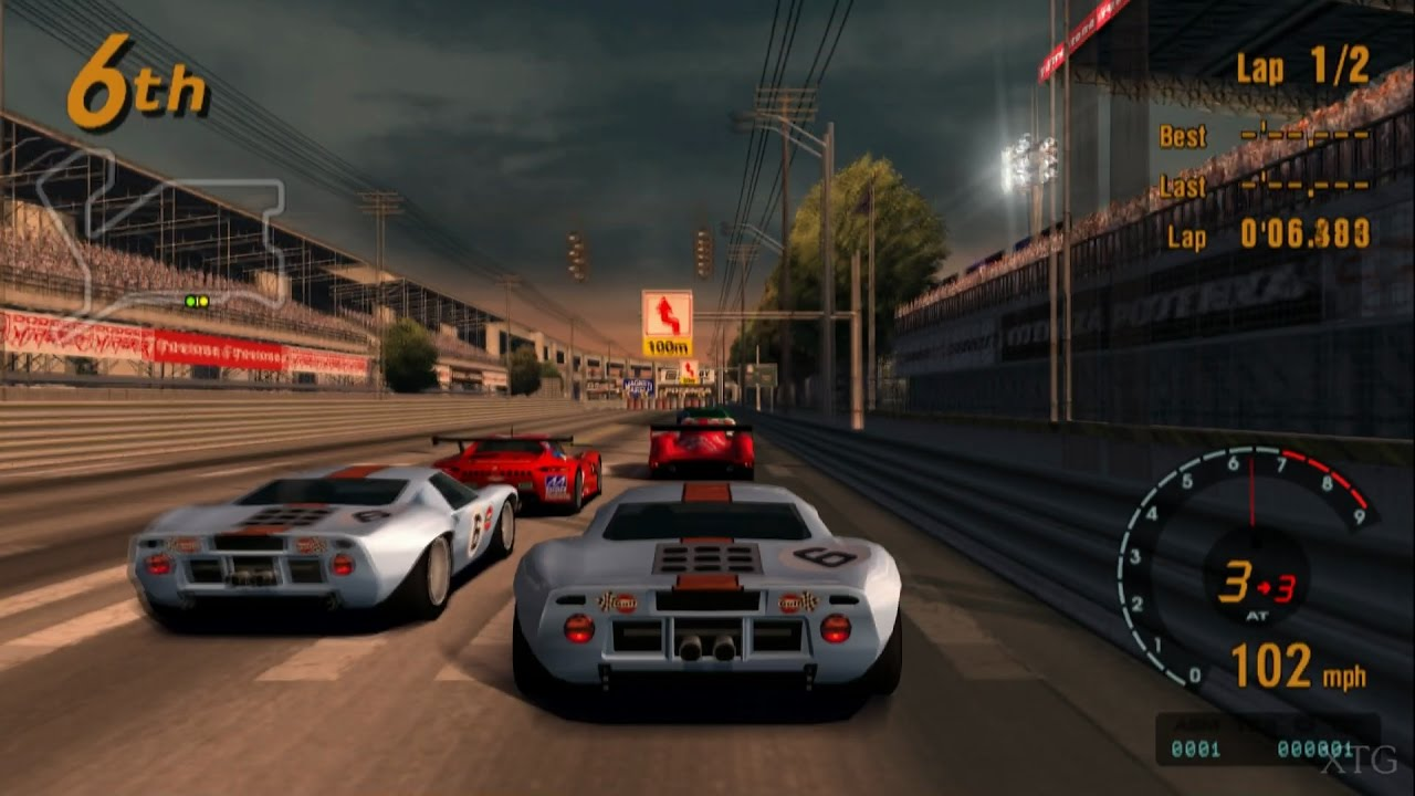 Gran Turismo  Ford Gt Race Car  Ps Gameplay Hd