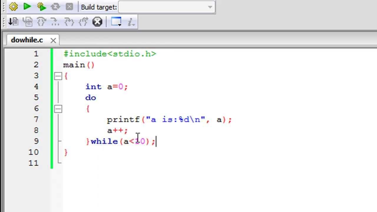 c programming tutorial 38 dowhile loop youtube