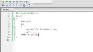 C Programming Tutorial - 38: Do-While Loop