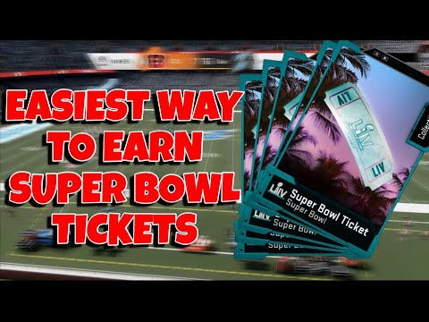 FASTEST WAY TO EARN SUPER BOWL TICKETS IN MADDEN 20 ULTIMATE TEAM