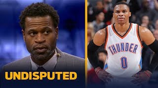 After falling to the 8th spot in the Western Conference, Stephen Jackson joins Skip Bayless and Shannon Sharpe to discuss why he believes the Oklahoma City ...