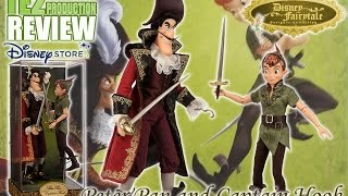 Review Disney Fairytale Designer Collection Peter Pan and Captain Hook