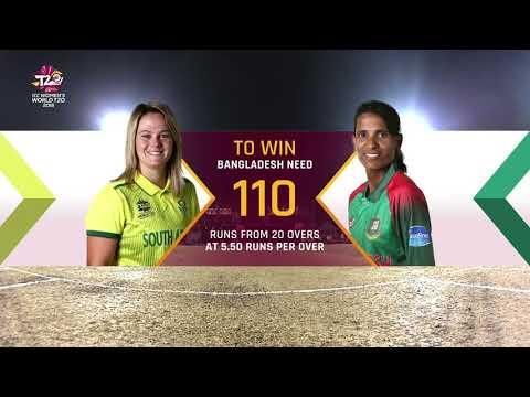 South Africa v Bangladesh - Women's World T20 2018 highlights
