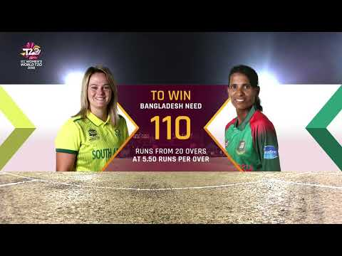 South Africa v Bangladesh - Women's World T20 2018 highlights