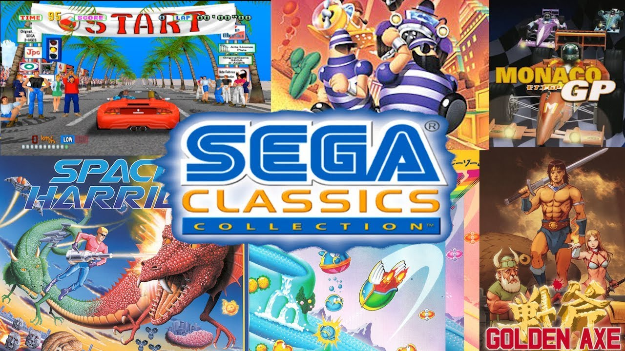 Sega Classics Collection Playstation 2 Youtube