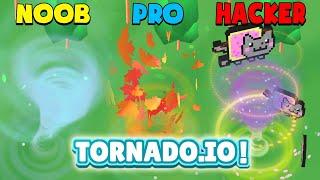 NOOB vs PRO vs HACKER – Tornado.io!