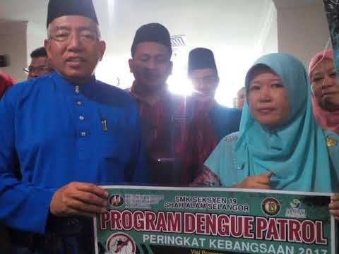 #084 ~ Our Minister of Education Dato' Seri Mahdzir Khalid is supporting the Dengue Patrol SMKS19