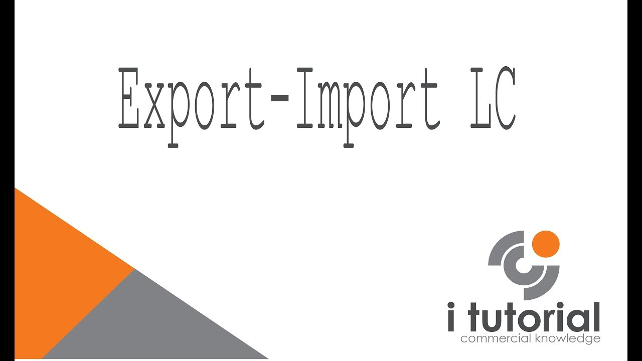 ExportImport LC In Bangla Letter Of Credit Documentary Letter Of - Invoice meaning in bengali