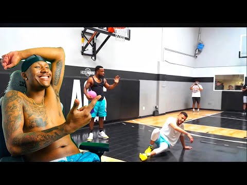Duke Dennis Reacts To Cash vs Brawadis 1v1 Rivalry Basketball Game!
