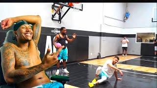 Duke Dennis Reacts T๐ Cash vs Brawadis 1v1 Rivalry Basketball Game!
