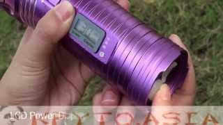 Ліхтар для риболовлі 2-х кольоровий промінь 200лм, штатив, 6000мАч