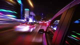 night driving timelapse from los angeles ca to las vegas nv in 3 min gopro