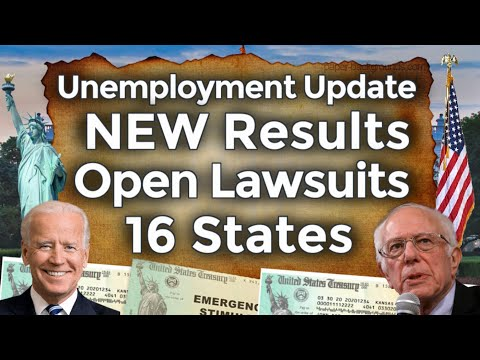 NEW Unemployment Lawsuits Coming Results Benefits Extension UPDATE 16 States Early End PUA PEUC