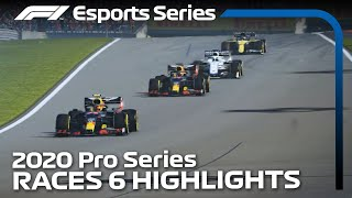 2020 F1 Esports Pro Series Presented by Aramco: Round 6 Highlights