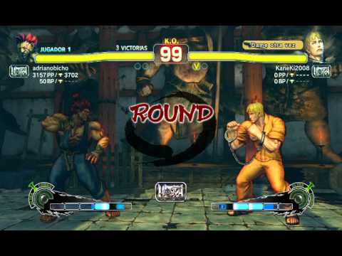 Batalla de Ultra Street Fighter IV: Akuma (adrianobicho) vs Cody (HermanLoveNayra)