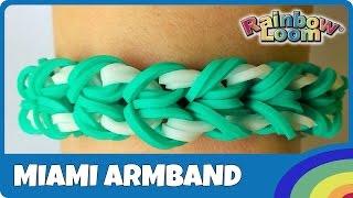 YouTube - FingerLoom Miami Armband