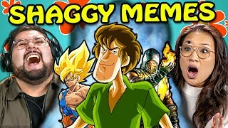 Shaggy Memes Reacted to by College Kids. Original links below. Join the SuperFam and support FBE: https://www.youtube.com/user/React/join SUBSCRIBE & HIT THE 🔔. New Videos 2pm PT on FBE: http://fbereact.com/SubscribeFBE What should we react to next?? https://fbereact.com/submit Watch More from FBE: http://fbereact.com/FBEallreactepisodes Watch More from React: http://fbereact.com/REACTallepisodes Join us LIVE on FBE2 every Tuesday and Friday at 3pm PST. Sign Up for Our Newsletter: http://fbereact.com/info  College Kids react to Shaggy memes. Watch to see their reactions.  Content Featured: https://twitter.com/SecludedBlue/status/1090041666671661057  ULTIMATE WARRIOR! SHAGGY ULTRA INSTINCT VS DAISHINKAN (EL GRANDE PADRE)! Dragon Ball XV 2 Mods https://youtu.be/FKgRflV9HyE  https://www.instagram.com/p/BtJ6JExAGE1/  SHAGGY(2019) https://www.instagram.com/p/BtHhuScnsSW/  https://www.reddit.com/r/thanosdidnothingwrong/comments/akmqct/shaggy_is_the_one_above_all/  IGN https://twitter.com/IGN/status/1090033560201977860  Naruto https://twitter.com/GnarlyBuster/status/1085389430326784000  Velma https://www.reddit.com/r/dankmemes/comments/ak3qfm/roh_ruh/  https://2horseskissing.tumblr.com/post/182354956400#notes?ref_url=https://www.polygon.com/%23_=_  https://www.reddit.com/r/dankmemes/comments/ak5gop/all_hail_shaggy/  https://www.instagram.com/p/BtL8EqSl543/?utm_source=ig_embed  Ultra Instinct Shaggy https://youtu.be/7h9V0nDT9XU  FBE's goal is to credit the original links to the content featured in its shows. If you see incorrect or missing attribution please reach out to credits@fbeteam.com  Reactors Featured: Brandon https://www.youtube.com/c/brandocommandoyaboi Elise https://www.instagram.com/elise.kom/ Eric https://www.youtube.com/4N1 George https://www.instagram.com/georgetoddmclachlan/ Jeannie https://www.instagram.com/jeannieelisemai/ Jordan https://www.instagram.com/jaaycarrera/ Kostas https://www.instagram.com/kostasg95/ Lene https://www.instagram.com/lenemurad/ Tori https://www.instagram.com/justxtori/  MERCH 👕 https://www.shopfbe.com  Follow FBE: FBE WEBSITE: https://fbeteam.com/ FBE: http://www.youtube.com/FBE REACT: http://www.youtube.com/REACT FBE2: https://www.youtube.com/FBE2 FBELive: https://www.youtube.com/fbelive FACEBOOK: http://www.facebook.com/FBE FACEBOOK: http://www.facebook.com/FBEShows TWITTER: http://www.twitter.com/fbe INSTAGRAM: http://www.instagram.com/f/fbe SNAPCHAT: https://fbereact.com/snapchat DISCORD: https://fbereact.com/FBEdiscord TWITCH: https://www.twitch.tv/fbelive AMAZON: https://www.amazon.com/v/FBE ROKU: http://fbereact.com/FBERoku XUMO: https://fbereact.com/xumo  SEND US STUFF: FBE P.O. BOX 4324 Valley Village, CA 91617-4324  Creators & Executive Producers - Benny Fine & Rafi Fine VP Production - Nick Bergthold Head of Production - Harris Sherman Director of Production - Levi Smock Sr. Supervising Producer - Kyle Segal Creative Director - Derek Baynham Producers - Ethan Weiser, JC Chavez Jr. Producer - Vartuhi Oganesyan Associate Producer - Lauren Hutchinson Production Coordinator - Alberto Aguirre Jr. Production Coordinator - Kristy Kiefer Post Manager- Emily McGuiness Editor - Cara Bomar Assistant Editor - Nicole Worthington Studio Technician - Sam Kim Jr. Studio Technician - Oscar Ramos, Stephen Miller, Jayden Romero Production Assistant - Kyllis Jahn, Micah Kearny, Stefan Fior, Laura Lareau, Edgar Plascencia, Ryan Johnson Set design - Melissa Judson Music - Cyrus Ghahremani  © FBE, Inc  College Kids React To Ultra Instinct Shaggy Meme Compilation