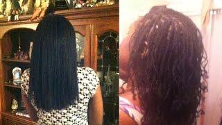 From Long Loose Natural Hair To Locs!!