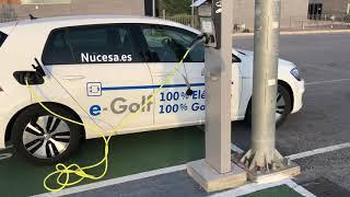 Prueba dinámica Volkswagen e-Golf