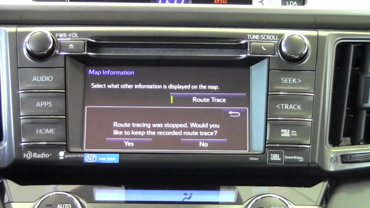 2014 toyota rav4 operate navigation map screen how to by brookdale toyota youtube