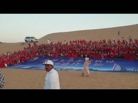 Desert safari in Dubai Desert Express safari camp