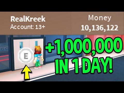 Roblox Jailbreak HOW TO MAKE MONEY FAST! *1 MILLION IN A DAY!* (How To Get 1 Million Dollars)