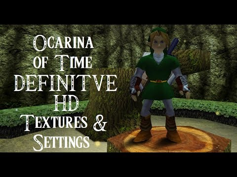 Ocarina of Time - 20 Legendary Years - Definitive HD Texture Pack, settings  and more