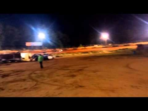 Mini stock hot laps west ga speedway 6/5/15