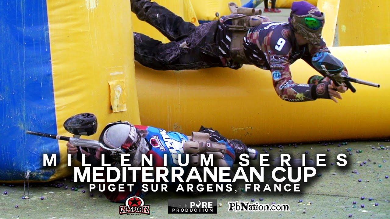Millennium Series Paintball | GI Sportz at Mediterranean Cup 2014 - YouTube