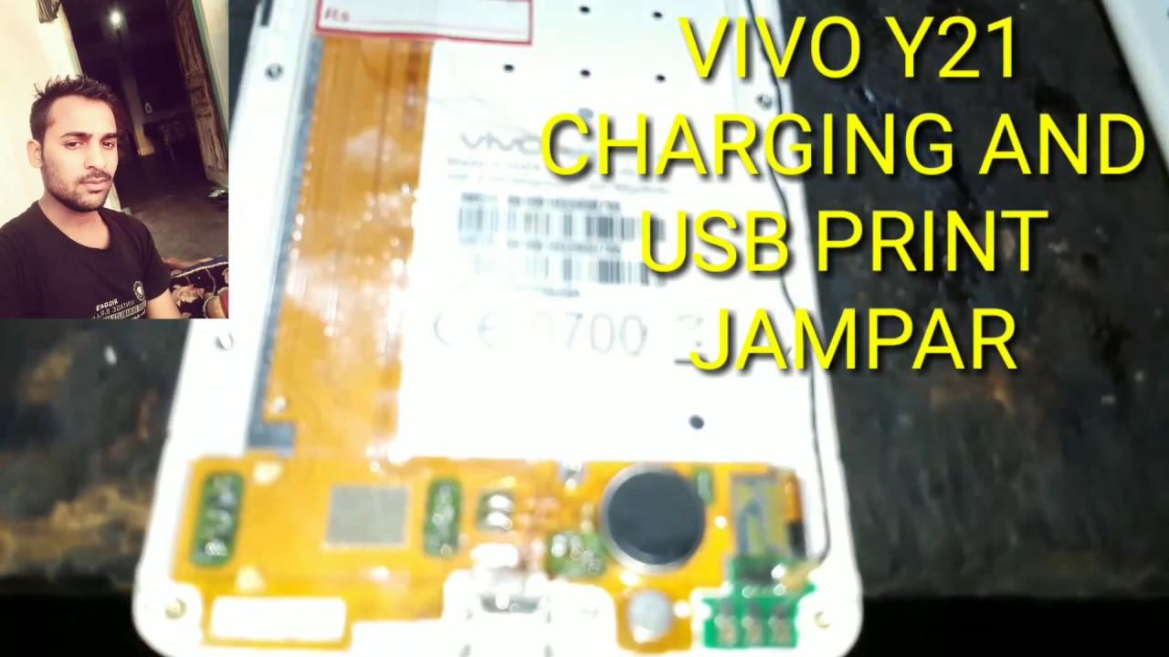 Vivo y21 charging track japar and USB problem patta damage
