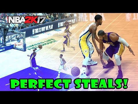 HOW TO GET A PERFECT STEAL EVERY TIME!! NBA 2K17 TIPS & TRICKS ** GET HALL OF FAME DEFENSE QUICK!!