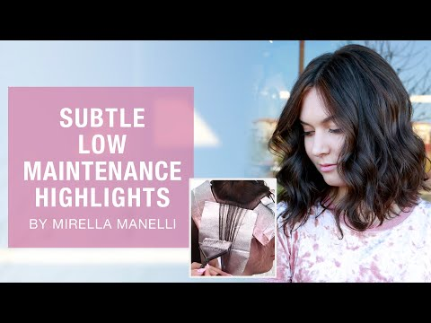 How To: Subtle Low Maintenance Highlights By Mirella Manelli | Kenra Color | Kenra Professional
