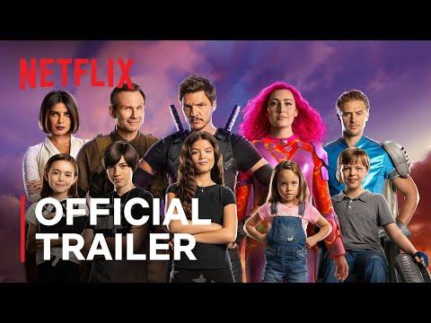 We Can Be Heroes starring Priyanka Chopra & Pedro Pascal | Official Trailer | Netflix