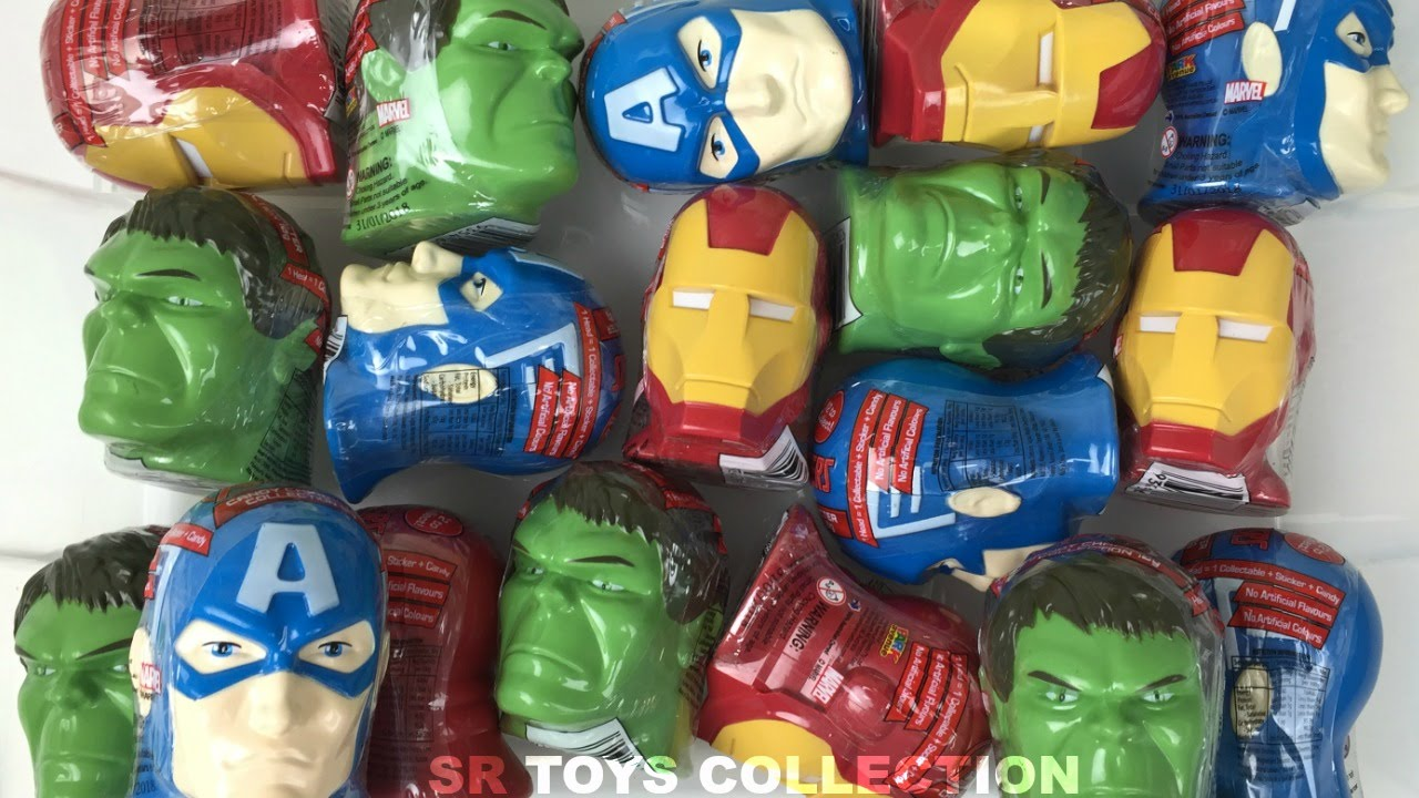 18 Marvel Avengers Surprise Toys