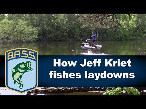 How Jeff Kriet fishes laydowns
