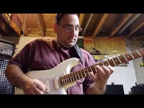 Fender Strat With EMG DG-20 Pickups. Just Improvising