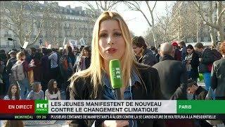 Grève pour le climat : le mouvement prend de l'ampleur à Paris