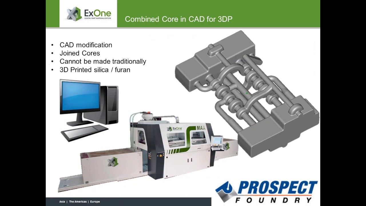 Combining Cores With 3D Printing: Modern Casting Webinar