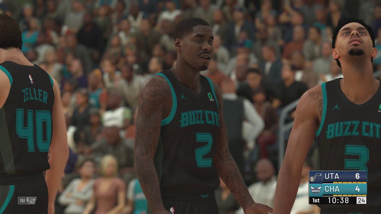 a14486e9ed7a NBA 2K19 - Utah Jazz vs Charlotte Hornets (City Jerseys) - YouTube