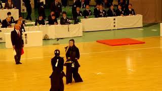 65th All Japan Kendo Championship 13   Round 1, Oishi vs Miura