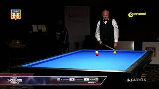 #5  Mark SULLIVAN vs Pedro PIEDRABUENA / 2018 USBA Three-Cushion Billiard National Championship