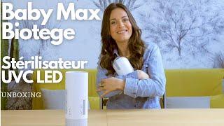 Stérilisateur UV Baby Max vidéo