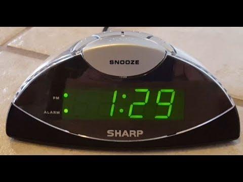 Sharp Alarm Clock Review